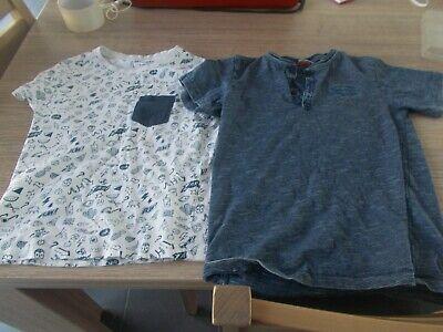 Lot de 5 t-shirt ORCHESTRA / Tape à l'oeil taille 128 (garçons).