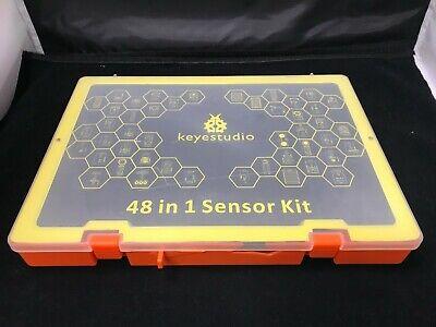 48 In 1 Electronics Components Sensor Modules Starter Kit For Arduino Diy Set