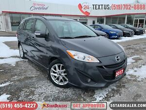2017 Mazda Mazda5 GT | 1 OWNER | LEATHER | ROOF | HEATED SEATS