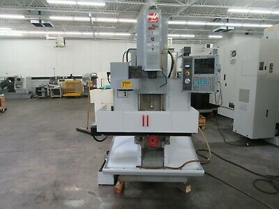 Haas Tm-1 Cnc Toolroom Mill With 4th Axis Brushless Drive- Only 872 Spindle Hrs