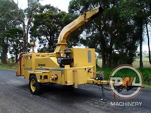 VERMEER BC1800XL DRUM WOOD BRUSH CHIPPER MULCHER WINCH BANDIT Austral Liverpool Area Preview