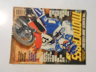 May 1991 Motocross Action Magazine Kawasaki Kx500 West Coast Swing Trans Am Ama