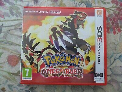 Pokémon Omega Ruby (2DS, 2014) Complete VGC