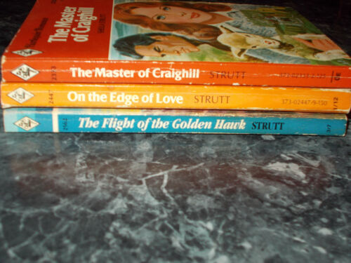Harlequin Romance Sheila Strutt lot of 3 contemporary romance paperbacks