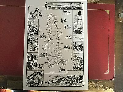 LUNDY ISLAND MAP ENHANCE YOUR COLLECTION WITH THIS COPY