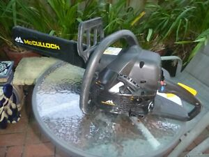 McCULLOCH CHAINSAW IN PERFECT CONDITION