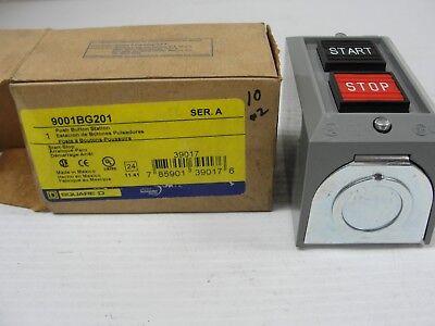 Square D 9001bg201 Start Stop Switch Unit Momentary.