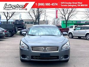 2014 Nissan Maxima SV |CERTIFIED|LEATHER|SUNROOF|BACKUP CAM|+++