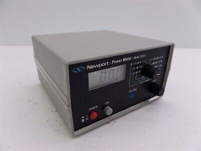 Newport Model 1815-c Power Meter