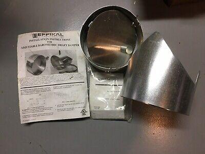 Effikal Barometric Draft Control Fuel Oil Furnace Boiler 7