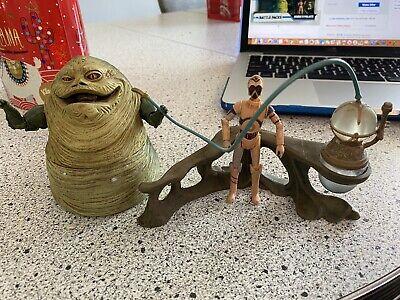 Jabba's Palace 2008 Clone Wars Battle Packs Jabba The Hutt & TC-70 Droid