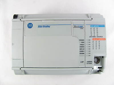 Allen Bradley Micrologix 1500 1764-24bwa Base With 1764-lsp Processor Used