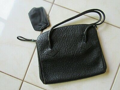 1930s Handbags and Purses Fashion Vintage 1930's 40's RAMBLER Hand Bag / Attached coin purse *GENUINE SEAL LEATHER $79.88 AT vintagedancer.com