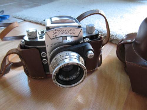 EXA IHAGEE Dresden Camera 1:2.9 f=50 mm.