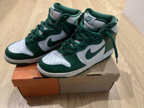 2003 Nike Celtic Dunk High White   Clover 304717-131   SB Celtic Green