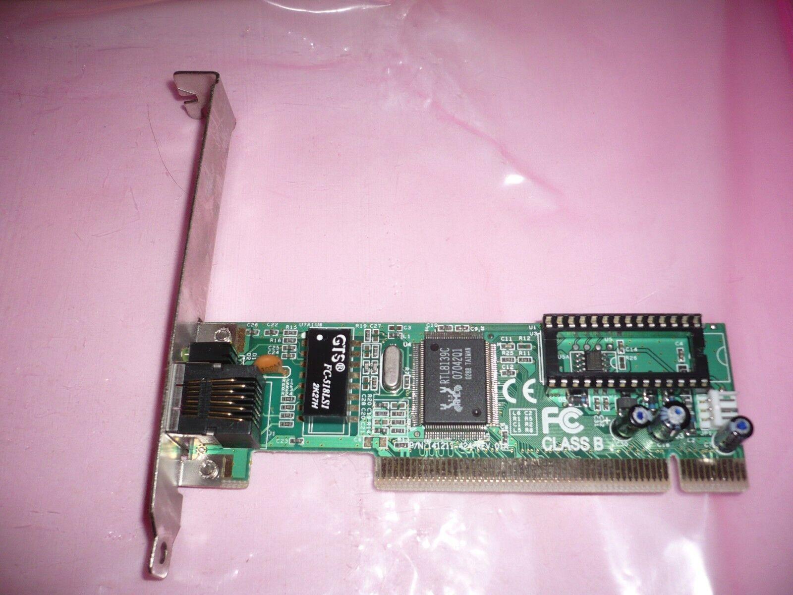 Ethernet PCI card Sitecom sitecom pci nic f3tz121100