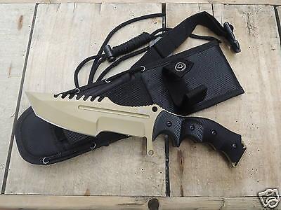 MTECH Xtreme Outdoor Messer Fahrtenmesser 440C Stahl Hunstman Knife  B WARE