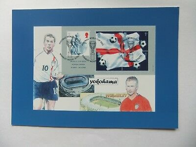 Postcard; Football, World Cup 2000 Korea/Japan, Stuart Smith