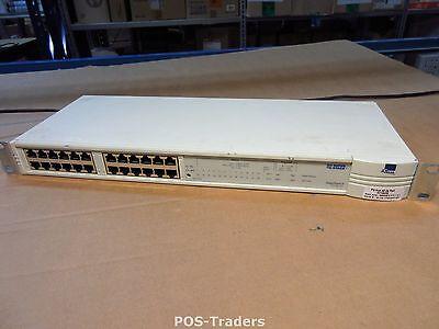 3Com 3C16406 SuperStack II PS HUB 40 24X Port 10Mbps Ethernet Switch