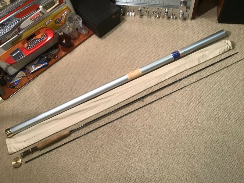 Vintage Fisher Graphite Fly Rod 8' 5 wt 2 pc Custom **NICE**