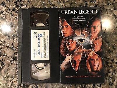 Urban Legend VHS! 1998 Slasher! See) Prom Night Scream 2 & Halloween H20