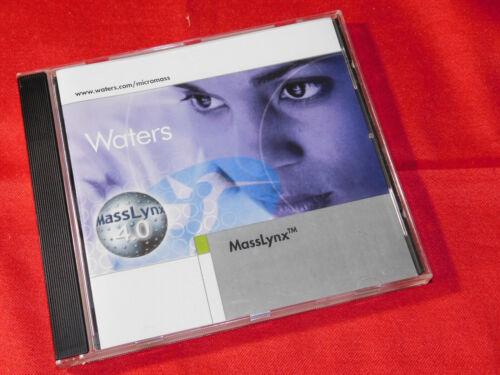 Waters MassLynx Version 4.0 Software CD; 667001312