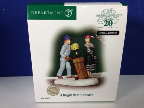 Dept 56 CIC Christmas in the City A BRIGHT NEW PURCHASE 56.59479 Brand New! RARE