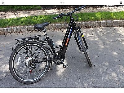 Hybrid Bicycle Electric Bike 6 Speed Shimano Gear Lithium Ion Battery Charger