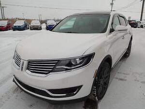 2016 Lincoln MKX,AWD,TOIT PANO,CRUISE,CAM RECUL,A-C Select