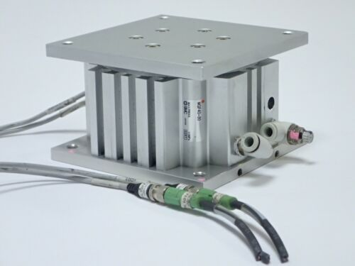 Smc Mgf40-30 Compact Guide Cylinder Table Bore 40mm Stroke 30mm Double Acting