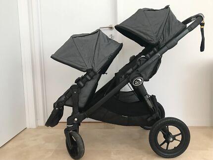 Baby Jogger City Select double pram - near new
