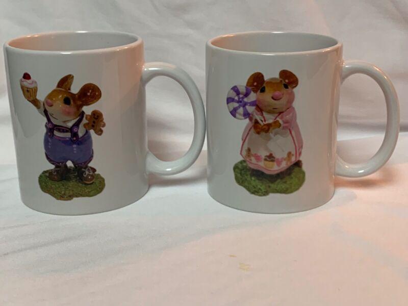 Wee Forest Folk Hansel and Gretel Mugs