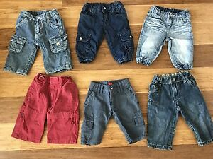 Baby Boys long pants x 6 quality brands great condition Old Bar Greater Taree Area Preview
