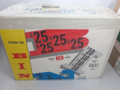 WINDOW BINGO PULL TABS - 1679  count -  .25 Cents per card -