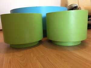 Kids Solid Wooden Round Table And Stools Endeavour Hills Casey Area Preview