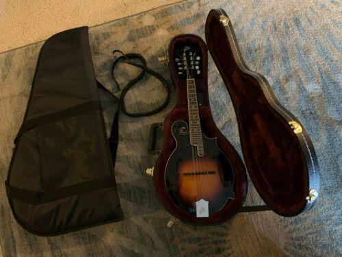 EUC LM-520-VS The Loar Performer Mandolin, F-Style w/ Hard Case & Gig Bag