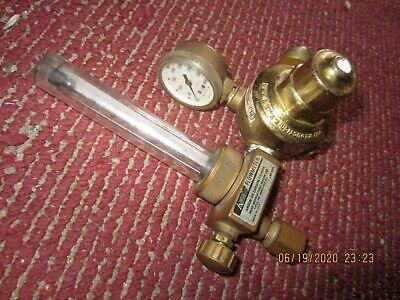 Airco Welding Gas Flow Meter Co2 Argon