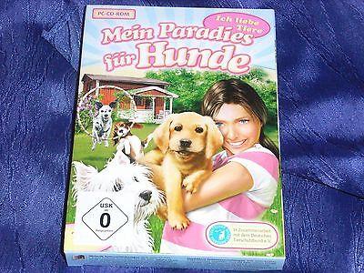 Posten 10x PC Spiel -Mein Paradies für Hunde/Ich liebe Tiere,3D