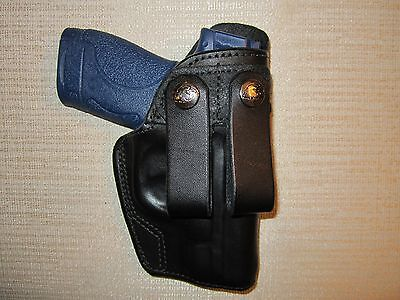 S&W - M&P SHIELD 9MM & 40 CAL., IWB, double snap holster, right hand for sale  Shipping to Canada