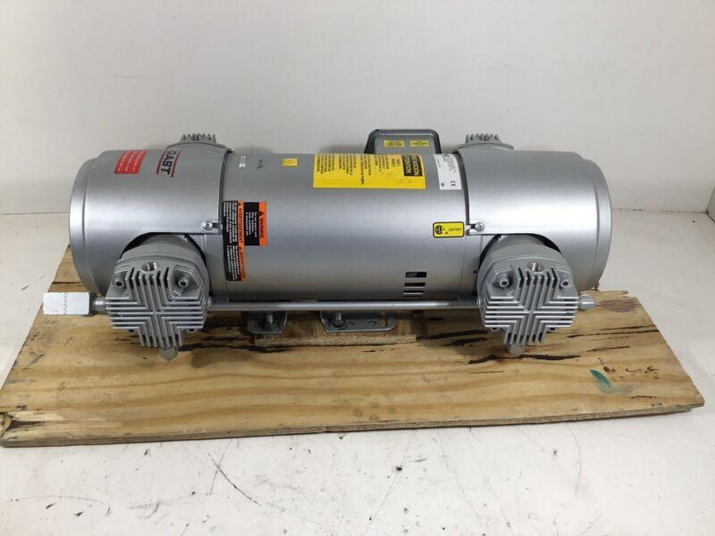 GAST 8HDM-251-M853 2 HP Air Compressor / Vacuum Pump 230/460VAC 2CJH3