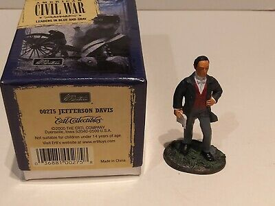 W BRITAINS  - AMERICAN CIVIL WAR LEADERS IN BLUE & GRAY - 00275 JEFFERSON DAVIS  for sale  Shipping to Nigeria