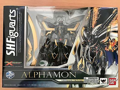 S.H.Figuarts Digimon Alphamon Action Figure Bandai USA seller!