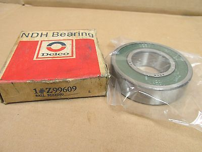 Nib Ndh Z99609 Bearing Rubber Sealed Z 99609 40x85x18 Mm