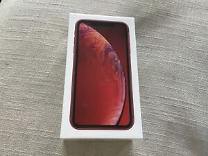 IPHONE XR RED SEALED BOX