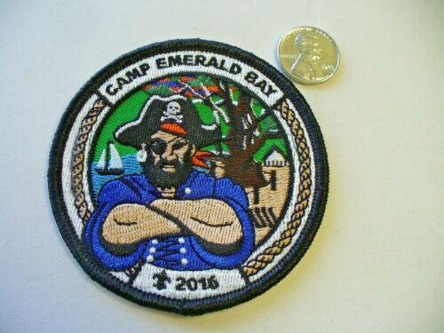 2016 Camp Emerald Bay Catalina Island Patch Pirate Western Los Angeles WLACC CA