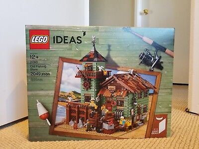 Sealed LEGO Ideas Old Fishing Store 21310 - BRAND NEW
