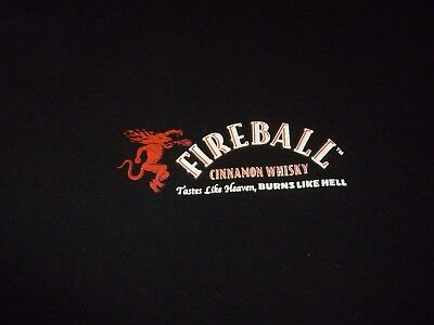 Fireball Whisky Shirt ( Used Size XXL  ) Very Good Condition!!!