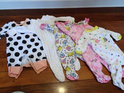 Onesies - girls newborn Chermside West Brisbane North East Preview