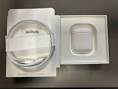 GENUINE APPLE AIRPODS CHARGING CASE WITH LIGHTNING CABLE-OEM REPLACEMENT AIRPOD