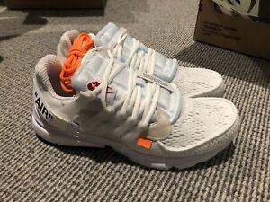 Nike Presto Off White US 10
